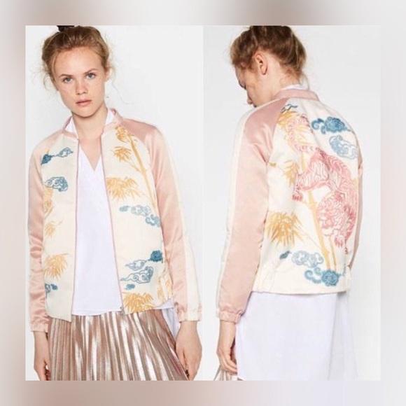 b2634b50828e Zara Jackets & Coats | Bomber Jacket | Poshmark